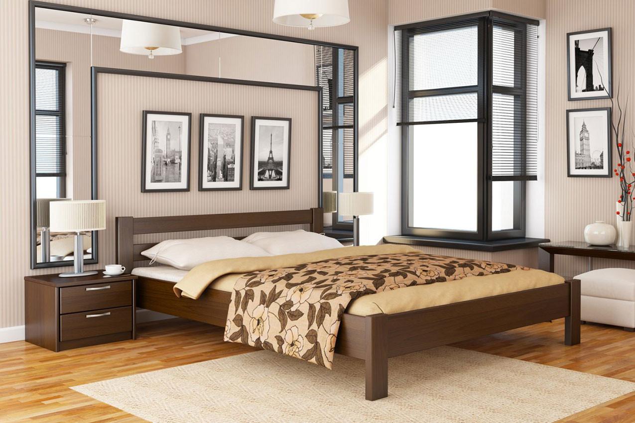 Деревянная кровать Рената