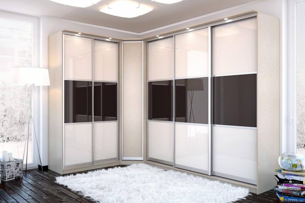Особенности углового шкафа в интерьере спальной комнаты