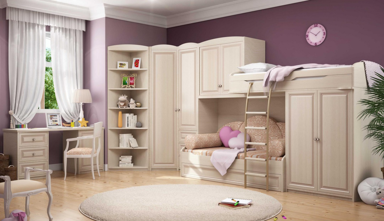 Как выбрать безопасную и удобную мебель в детскую комнату