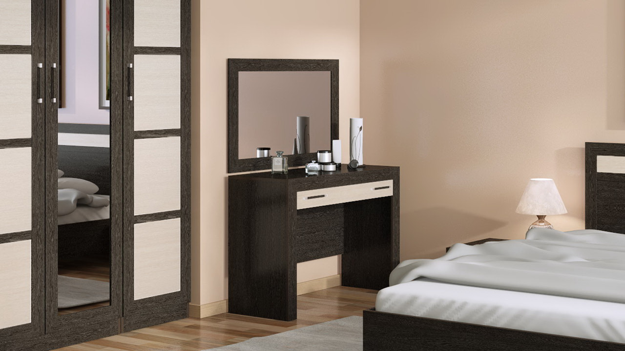 Как правильно выбрать красивое и удобное трюмо для спальни