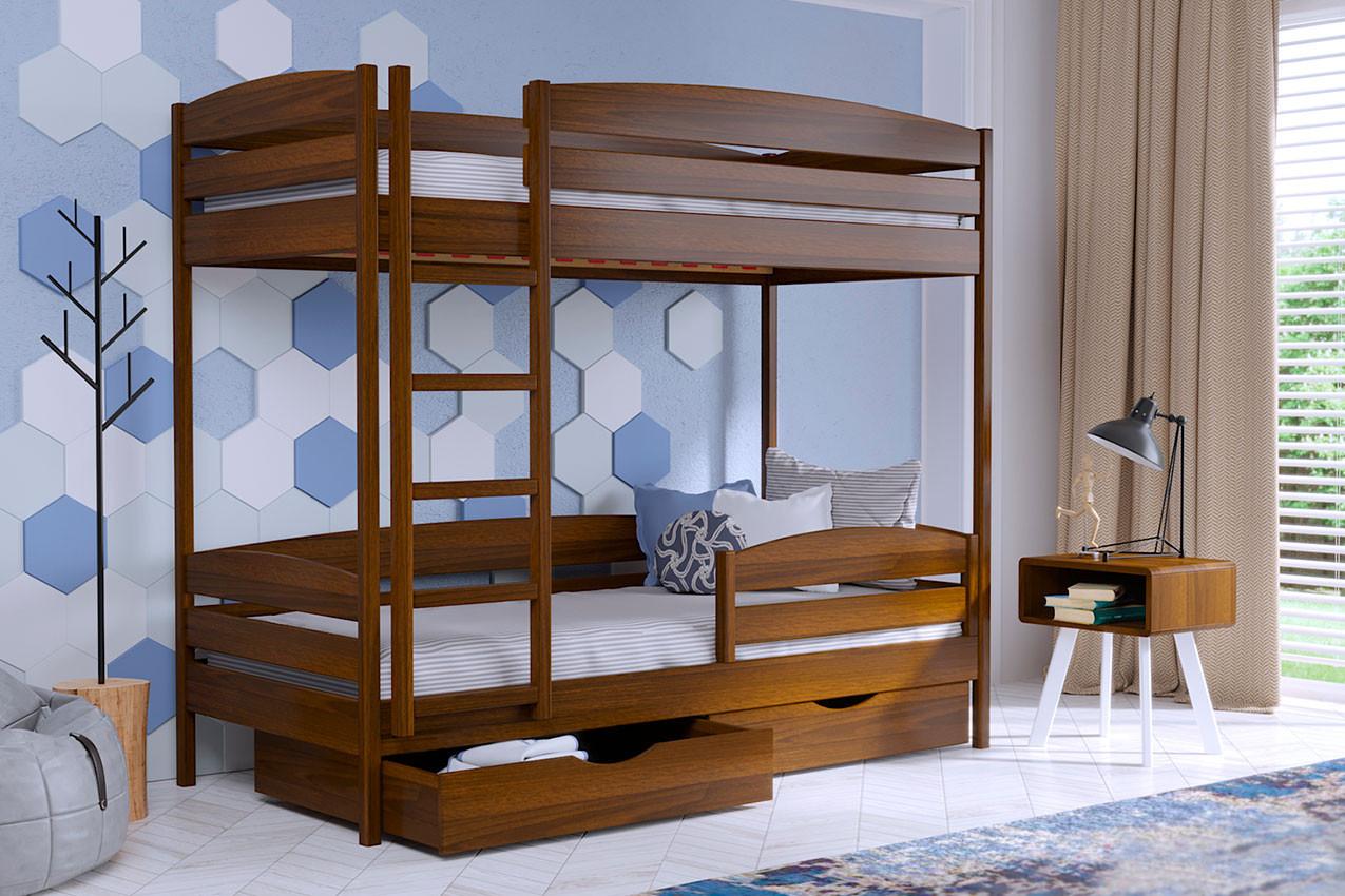 Двухъярусная кровать: два вопроса — одно решение!