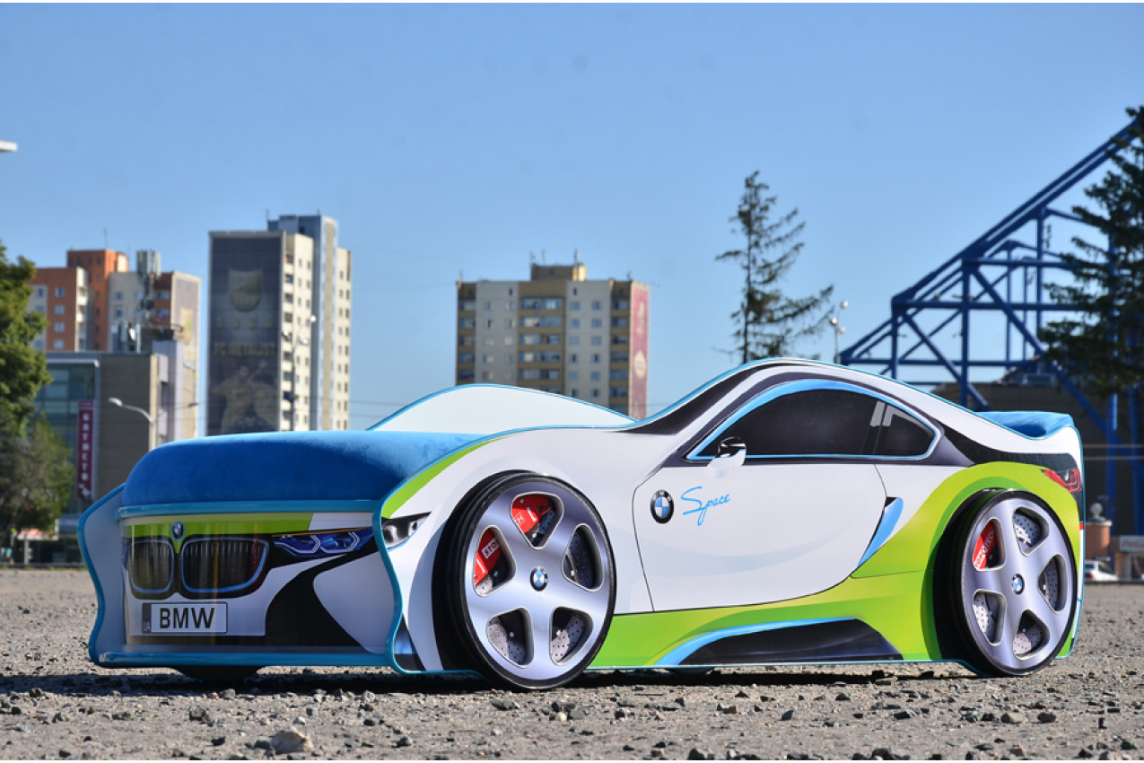 Детская кровать-машина  BMW Space недорого