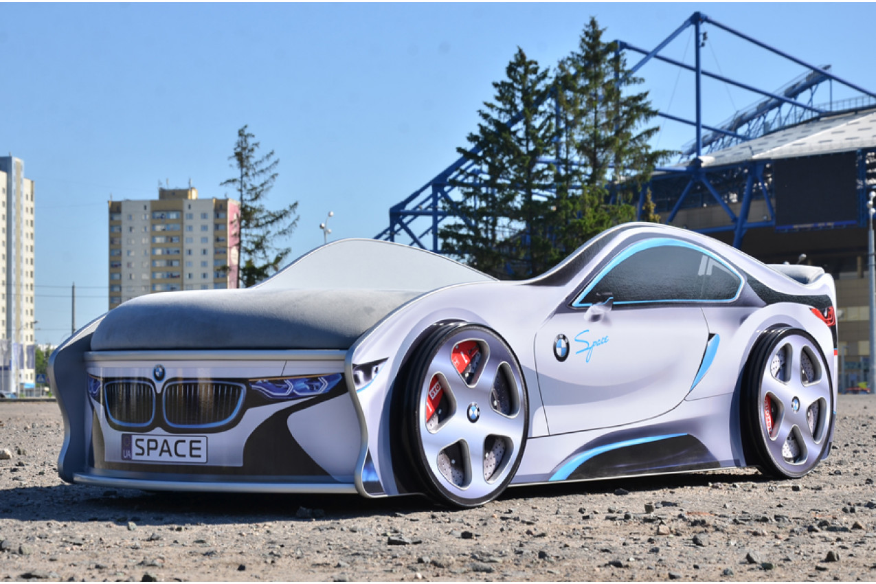Детская кровать-машина  BMW Space купить