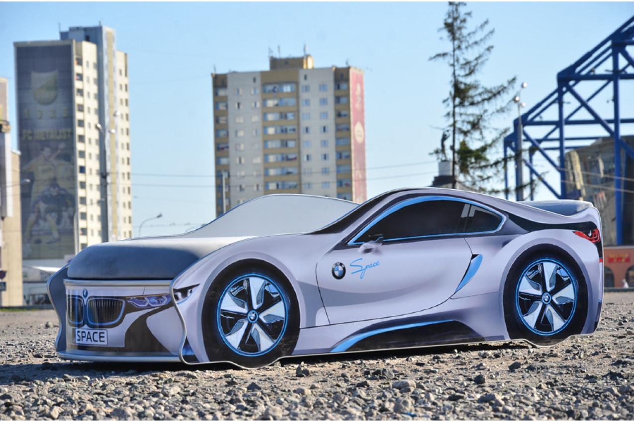 Детская кровать-машина  BMW Space