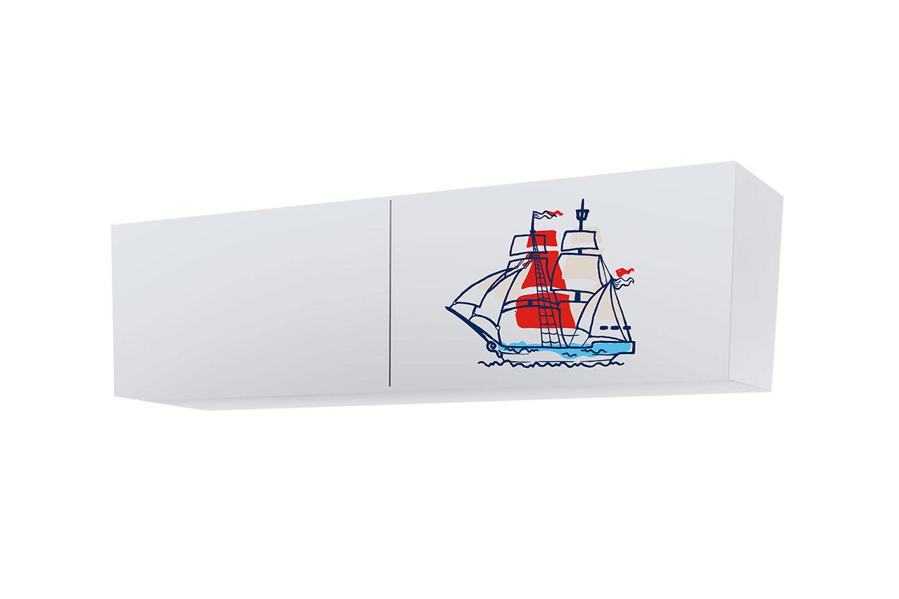 Полка Корабль (2 закрытые секции)