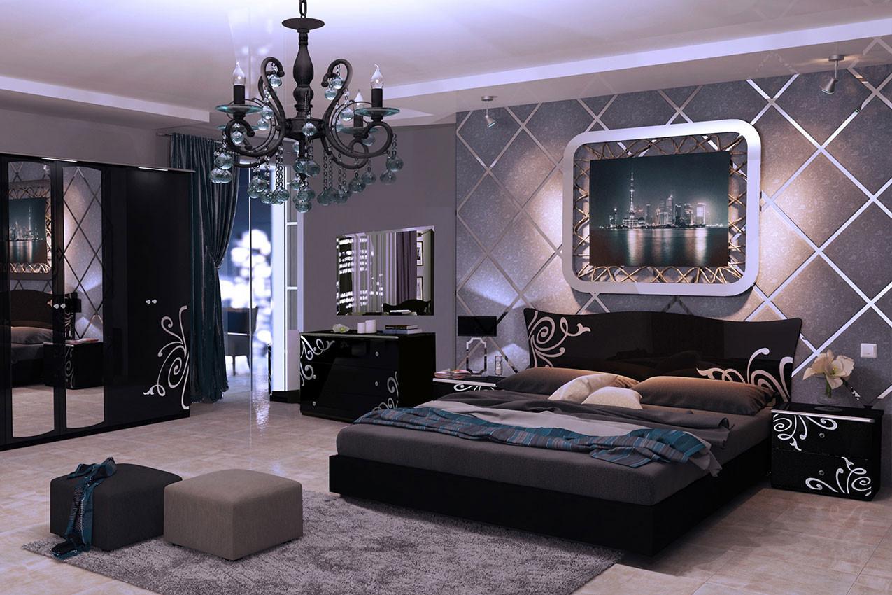 Спальня Богема Black