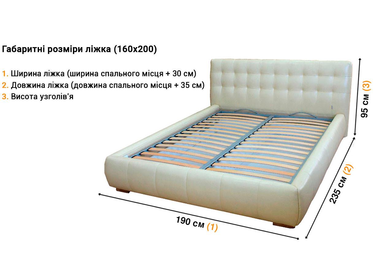 Мягкая кровать Дрим недорого