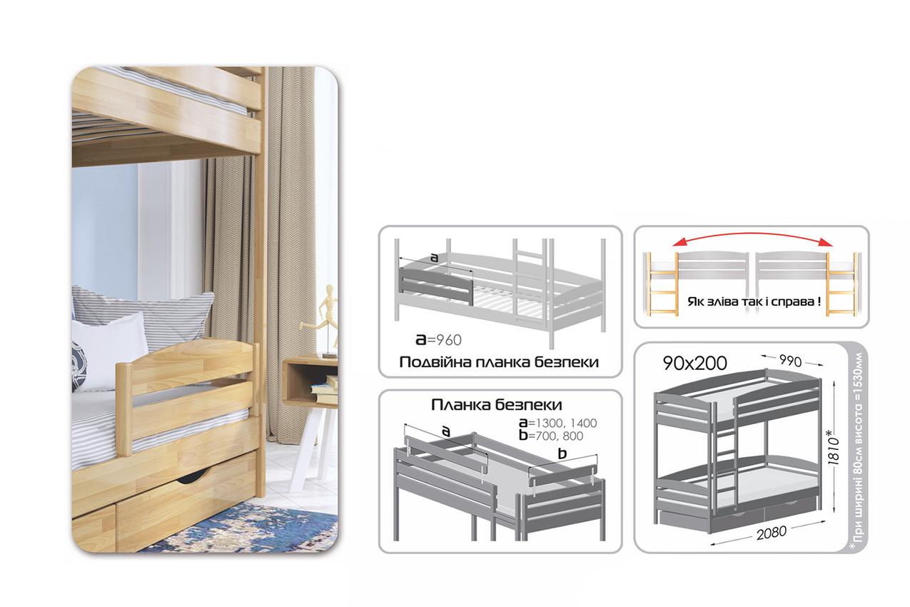Двухъярусная кровать Дуэт Плюс в наявності
