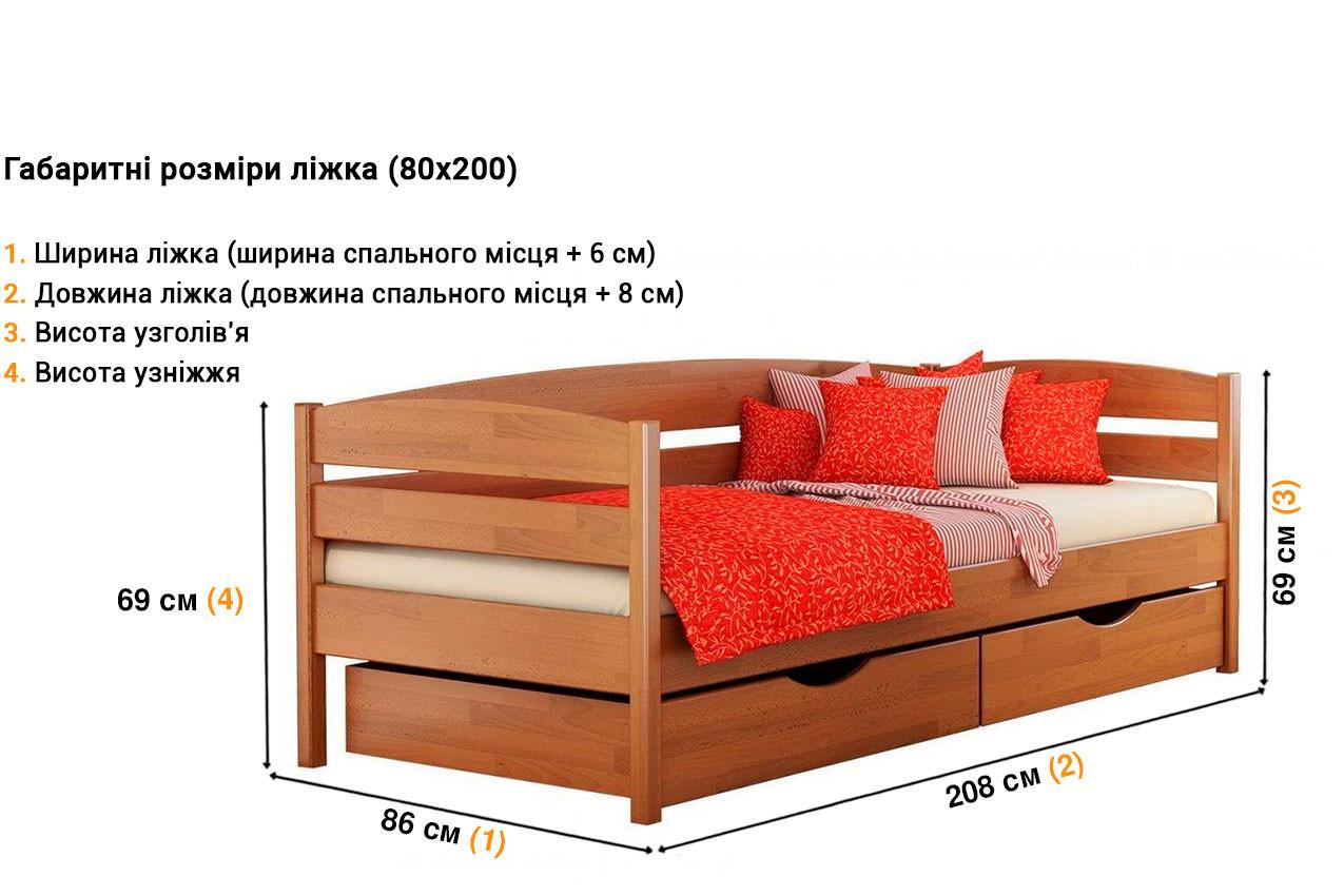 Детская кровать Нота плюс недорого
