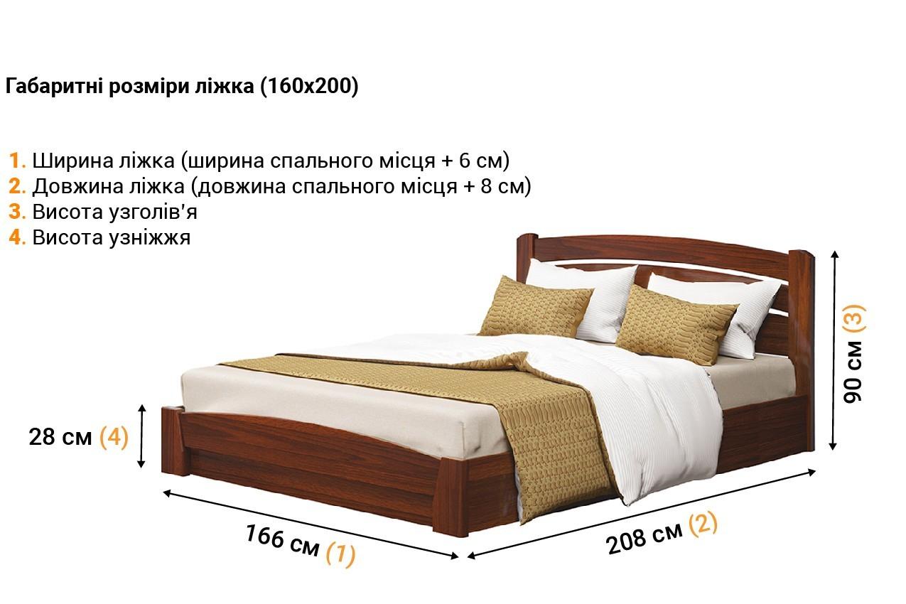 Деревянная кровать Селена Аури недорого