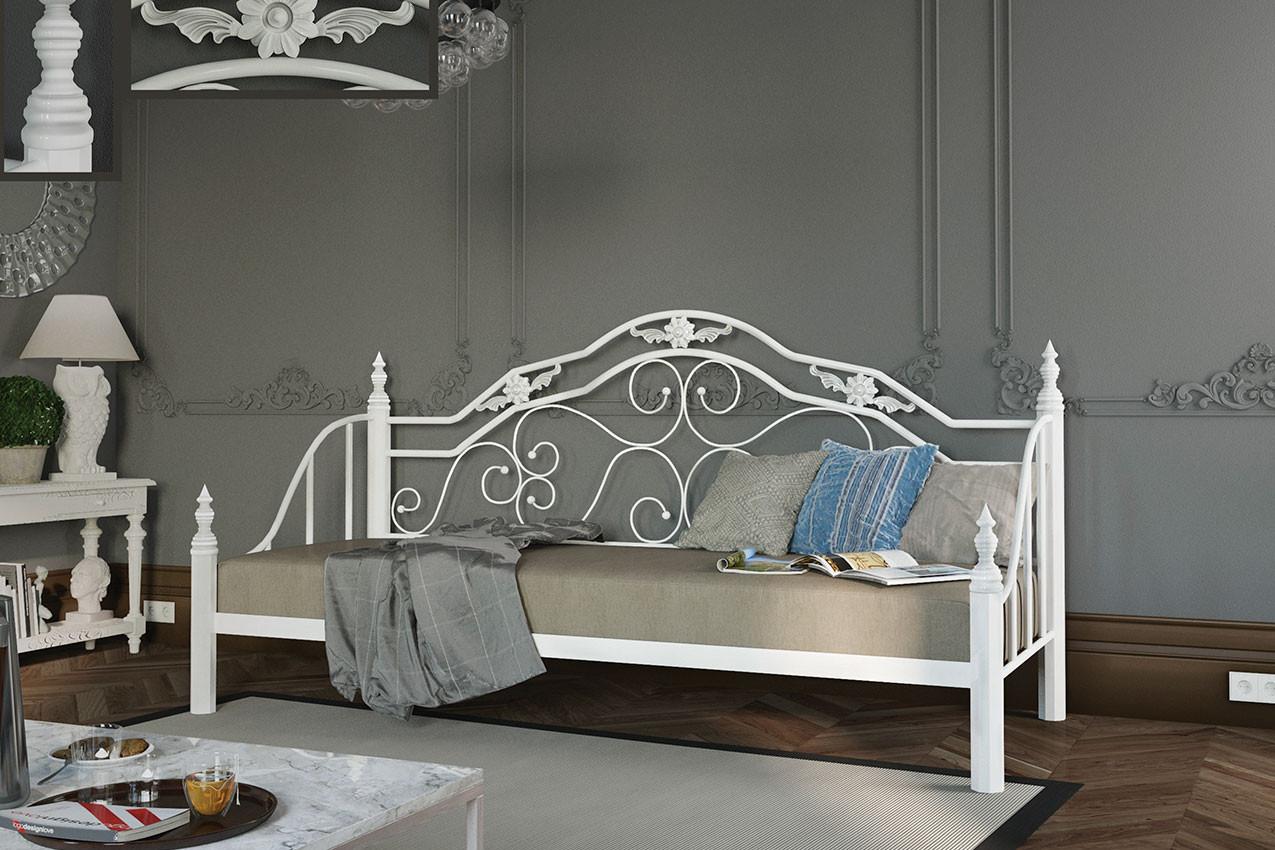Металлическая кровать Леон
