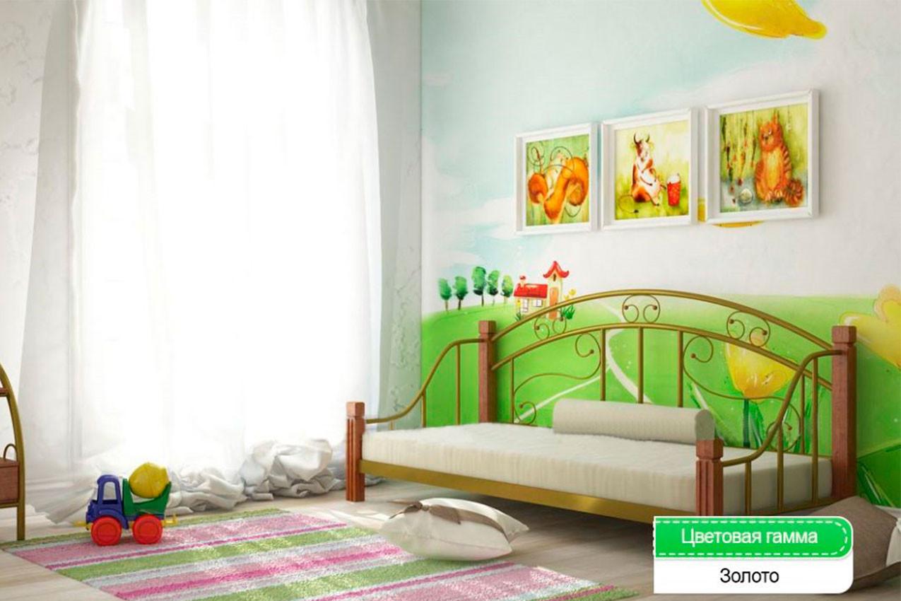 Металлическая кровать Орфей купити