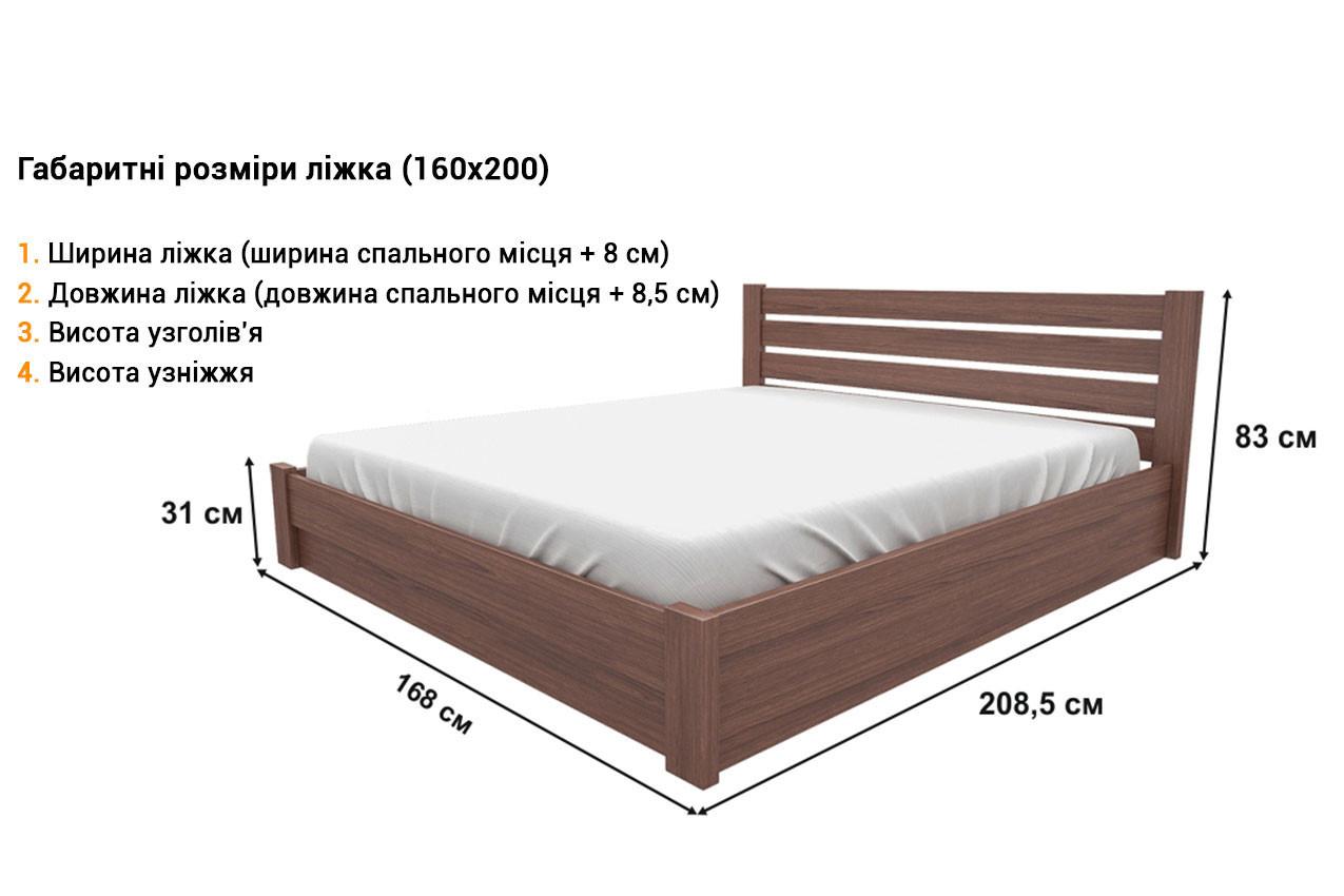 Деревянная кровать Джолента купить
