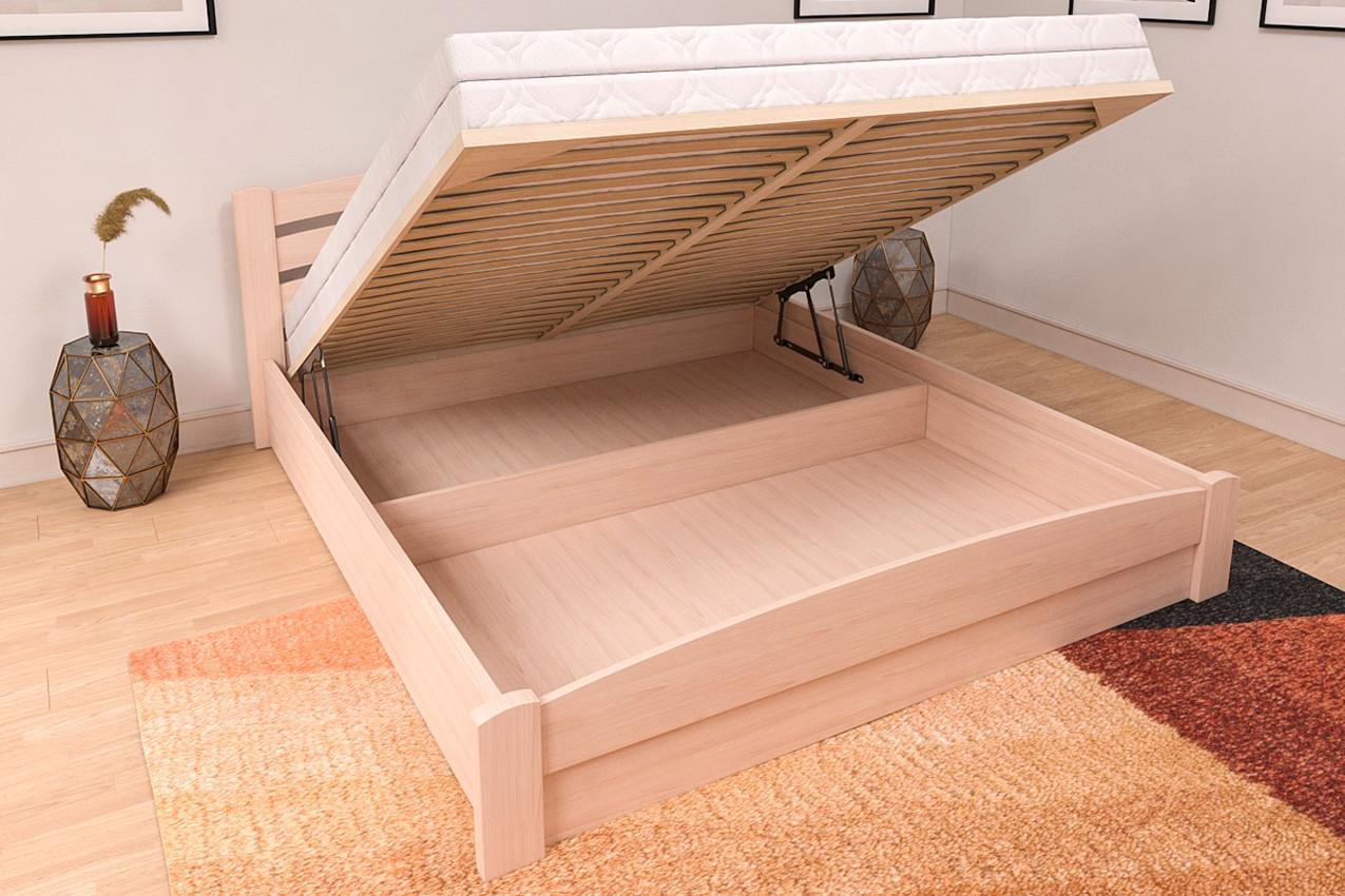 Деревянная кровать Мерлинда фото