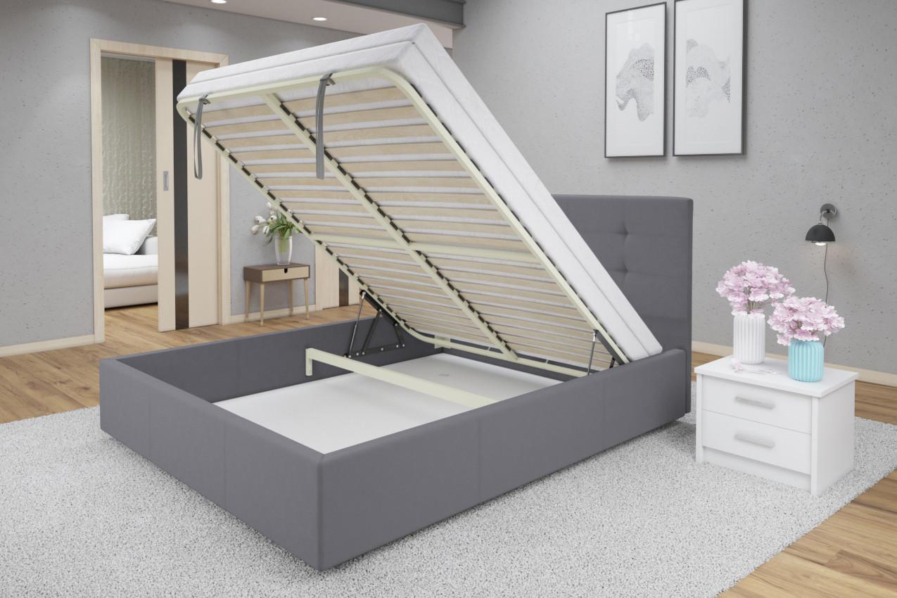 Мягкая кровать Зелла купить