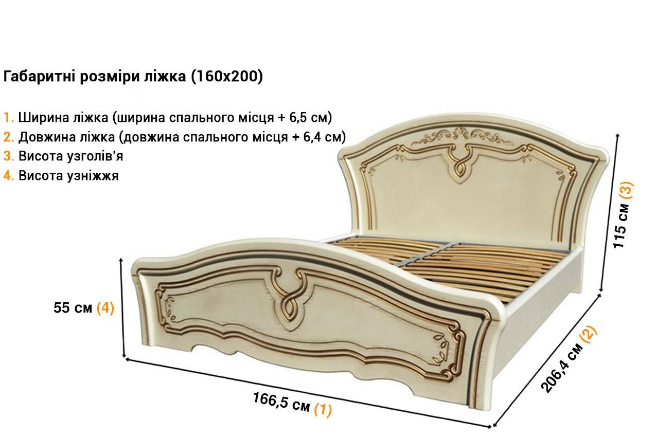 Kровать из МДФ Альба недорого