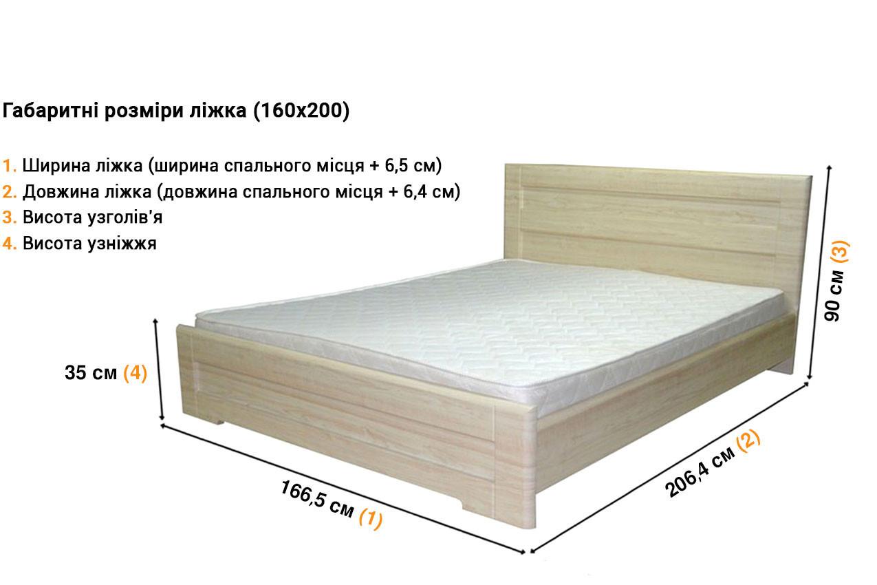 Kровать из МДФ Кармен недорого