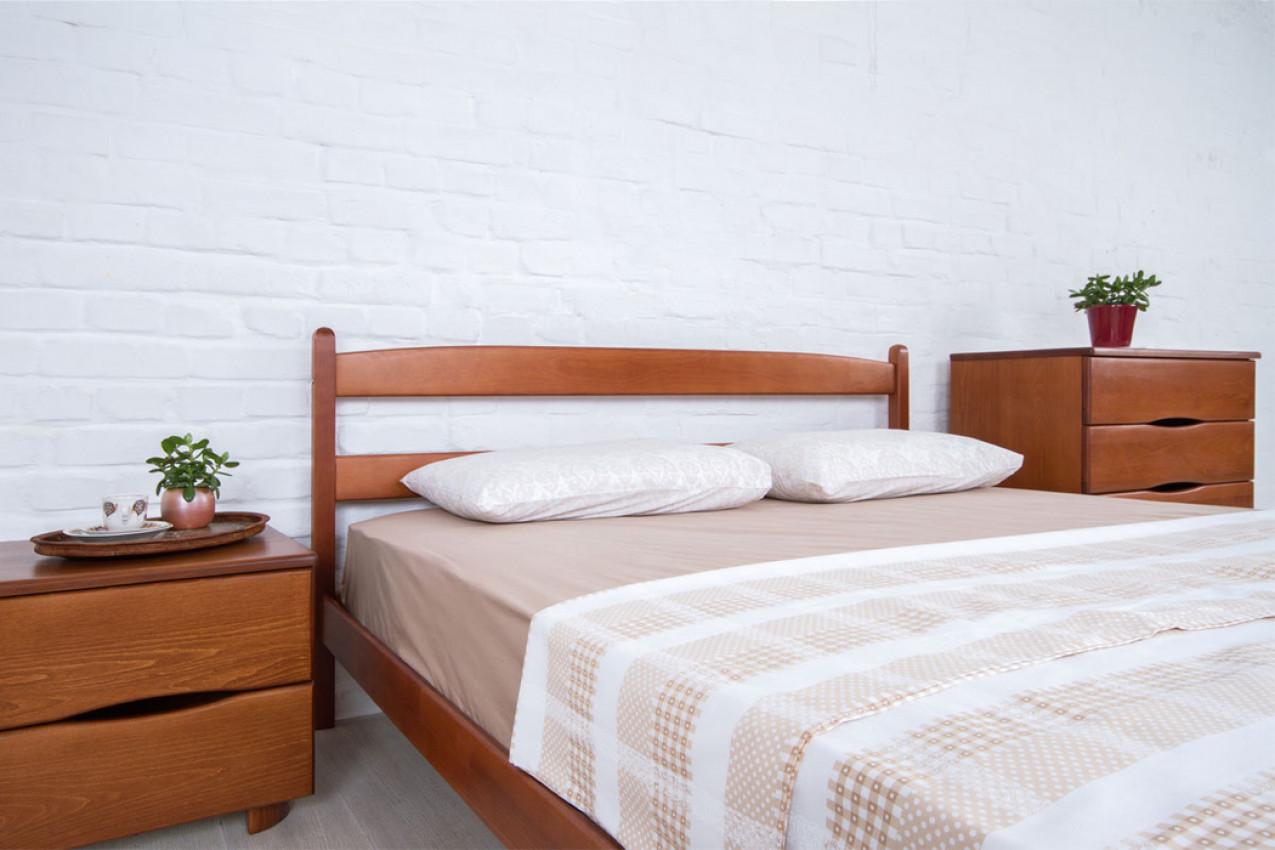 Деревянная кровать Лика без изножья