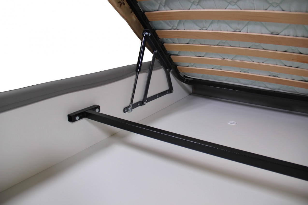 Мягкая кровать Оксфорд фото