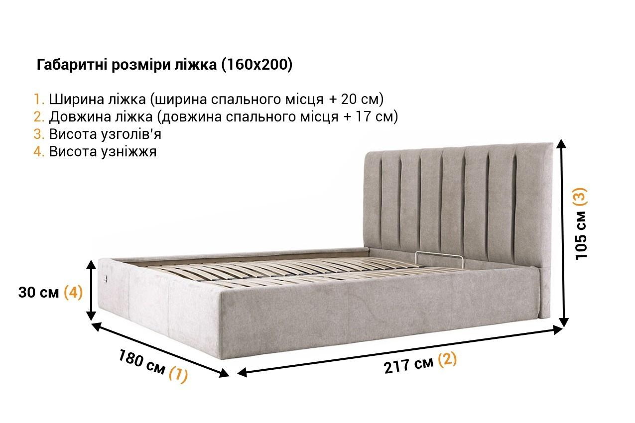 Мягкая кровать Санам недорого