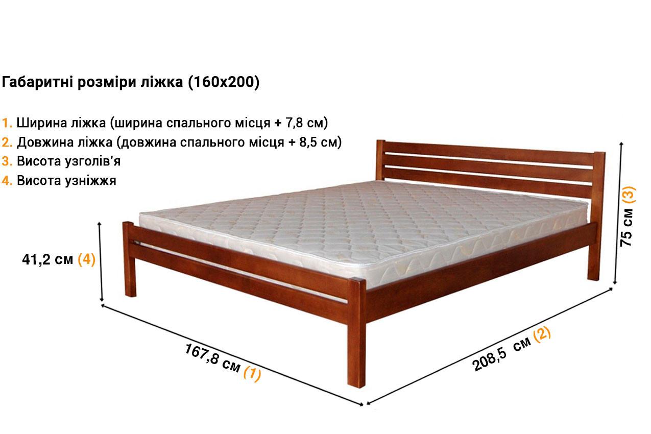 Деревянная кровать Классика недорого