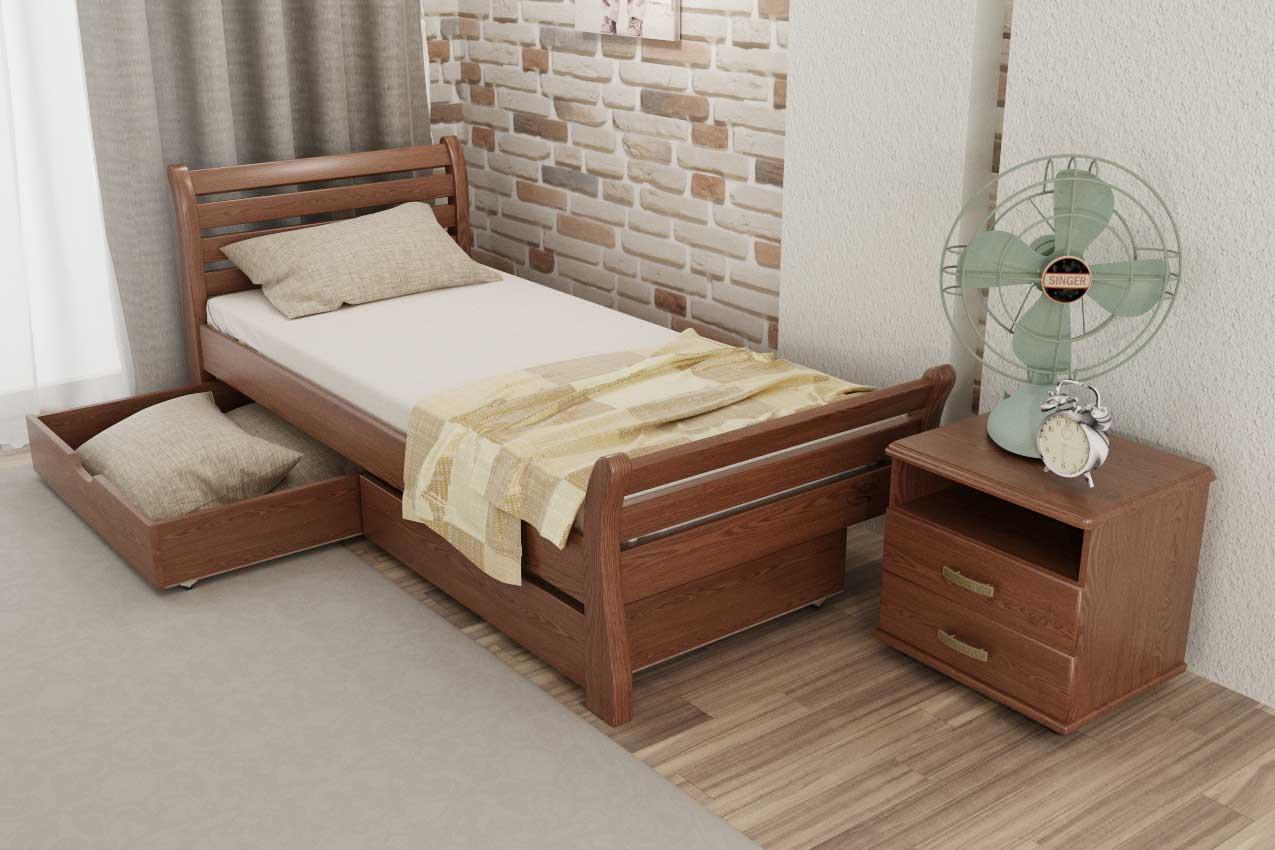 Деревянная кровать Ретро в Украине
