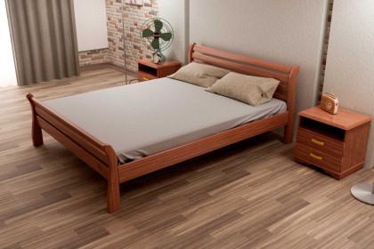 Деревянная кровать Ретро