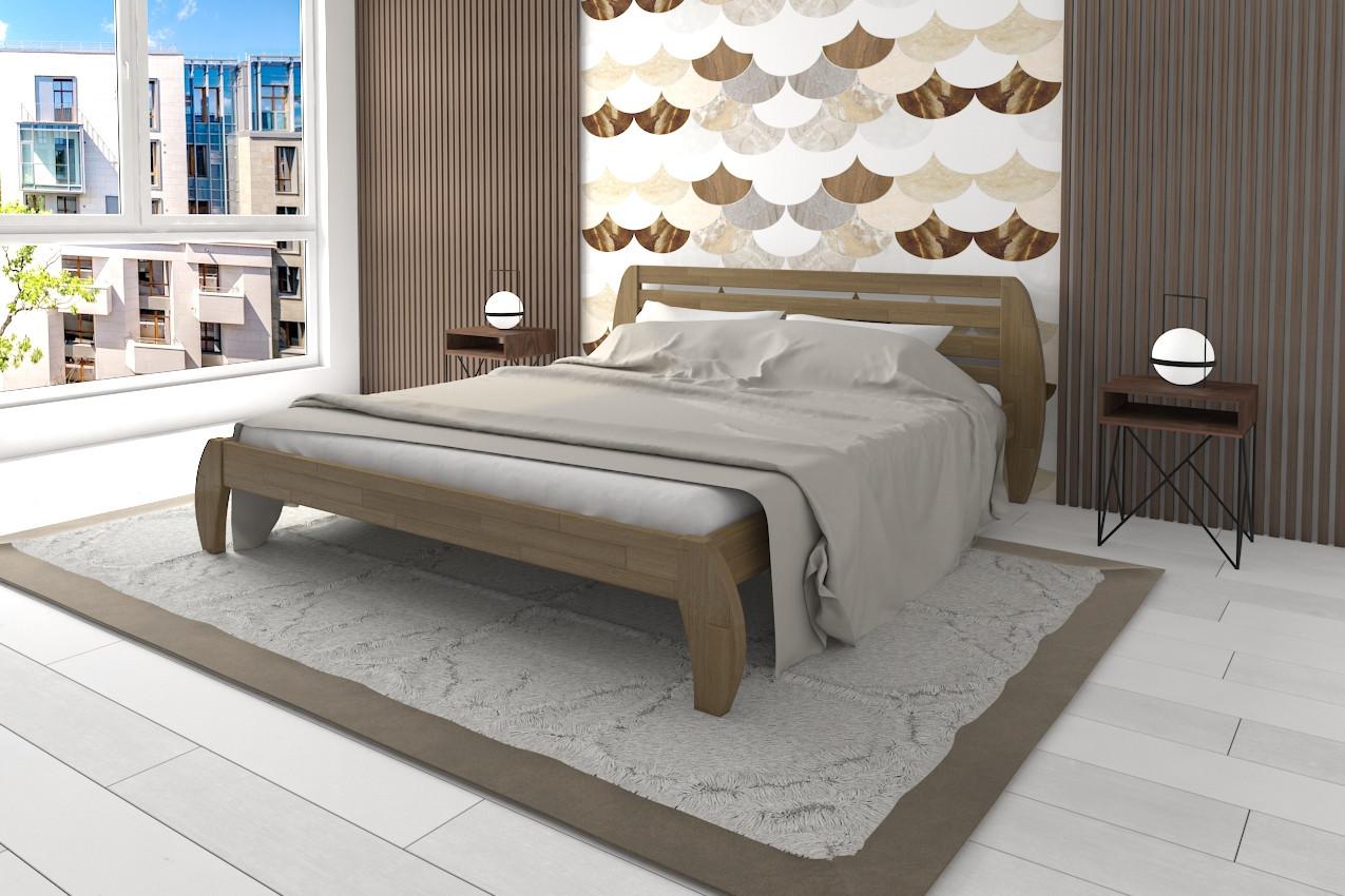 Деревянная кровать Ладина фото