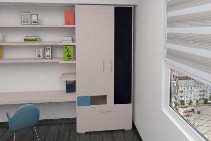 Шкаф 2-дверный Next