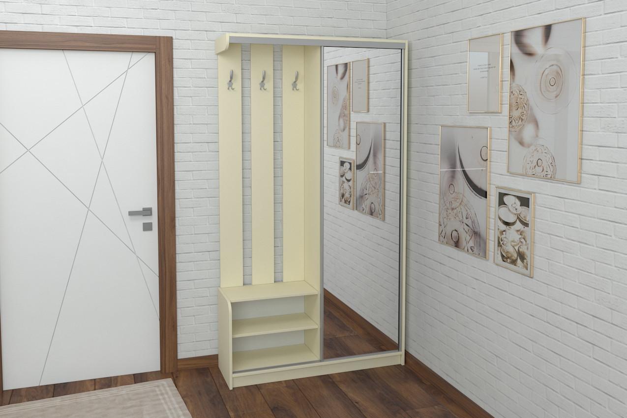 Прихожая Luxe Studio Купе 3 под заказ