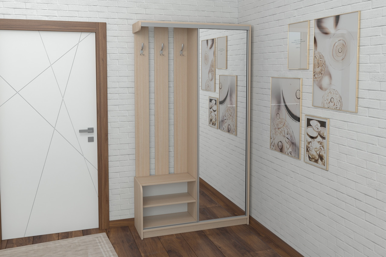 Прихожая Luxe Studio Купе 3 в кредит