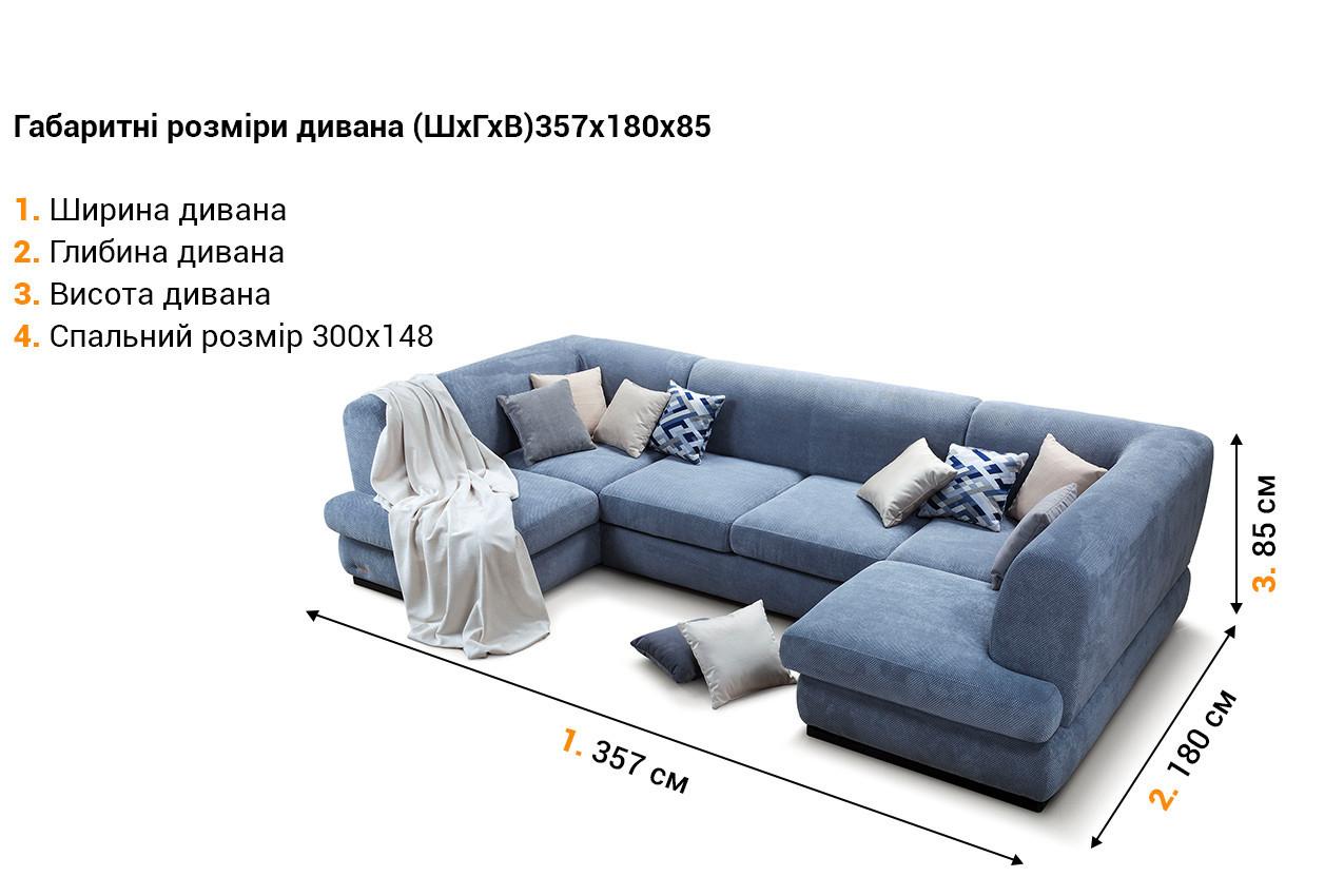 Угловой диван Бостон 2 в интернет-магазине