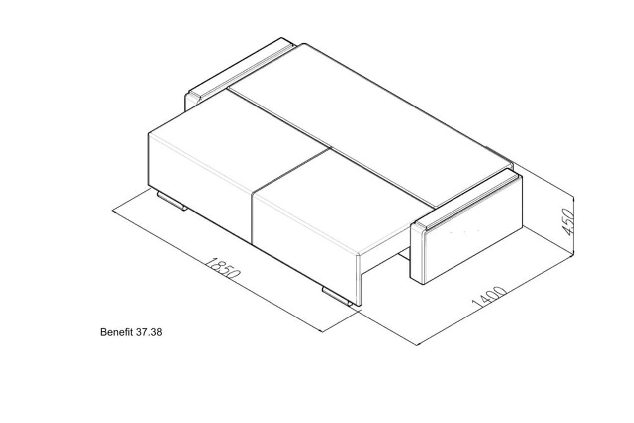 Прямой диван Benefit 37 в интернет-магазине